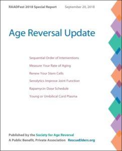 RAADFest 2018 Age Reversal Update