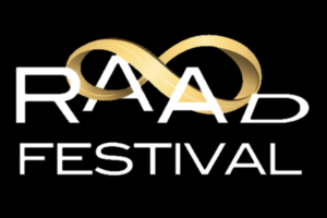 RAADfest logo black